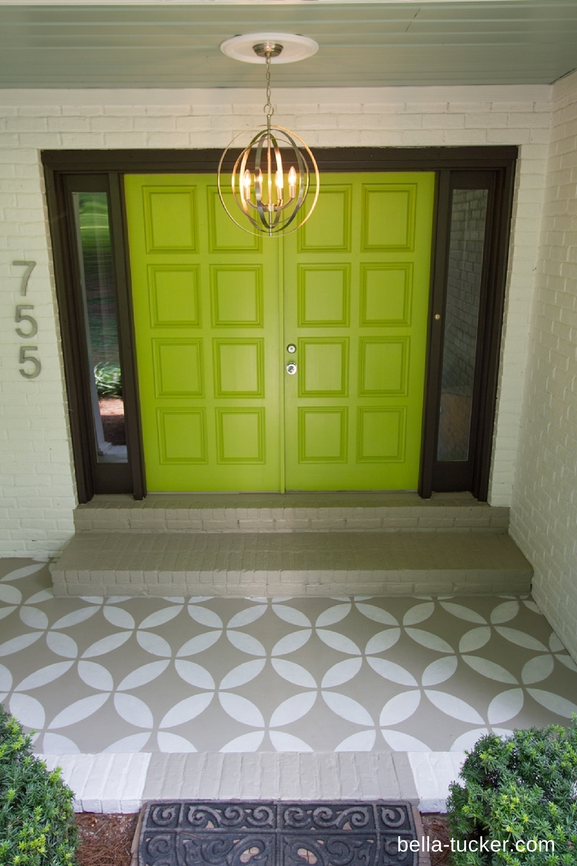Front Door Paint- Fortunate by Bella Tucker Decorative Finishes