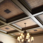 Faux Finish Coffered Ceiling