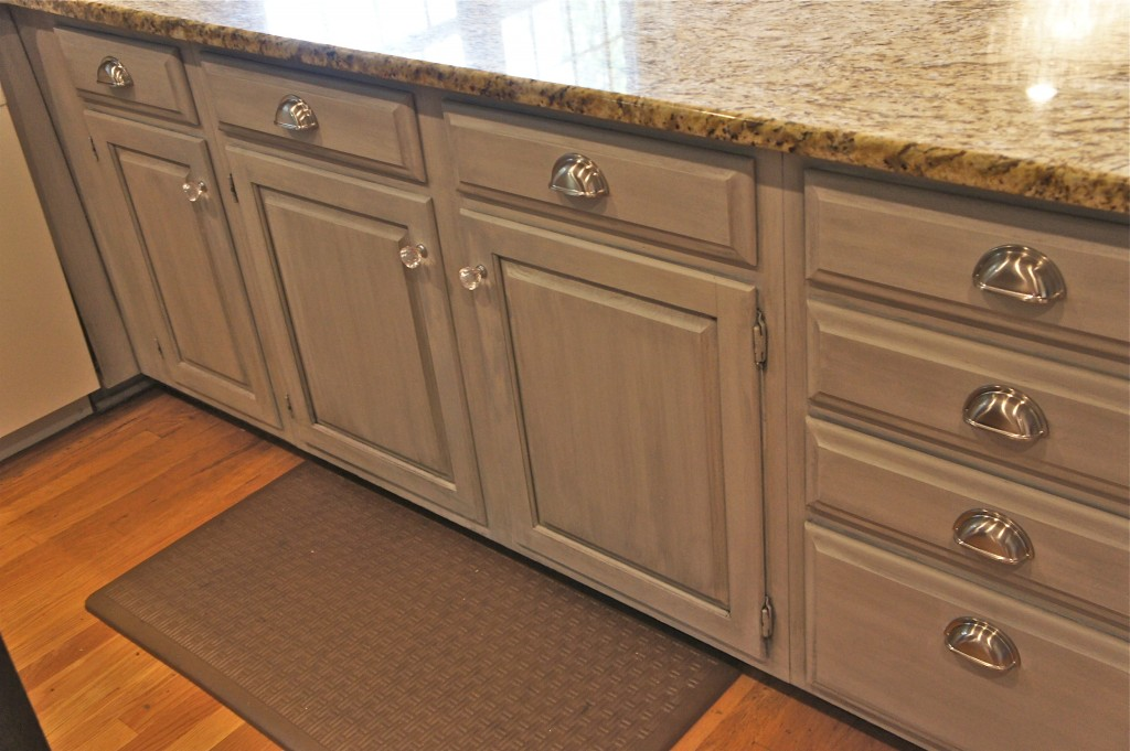Soft Grey Cabinet Finish By Bella Tucker Decorative Finishes