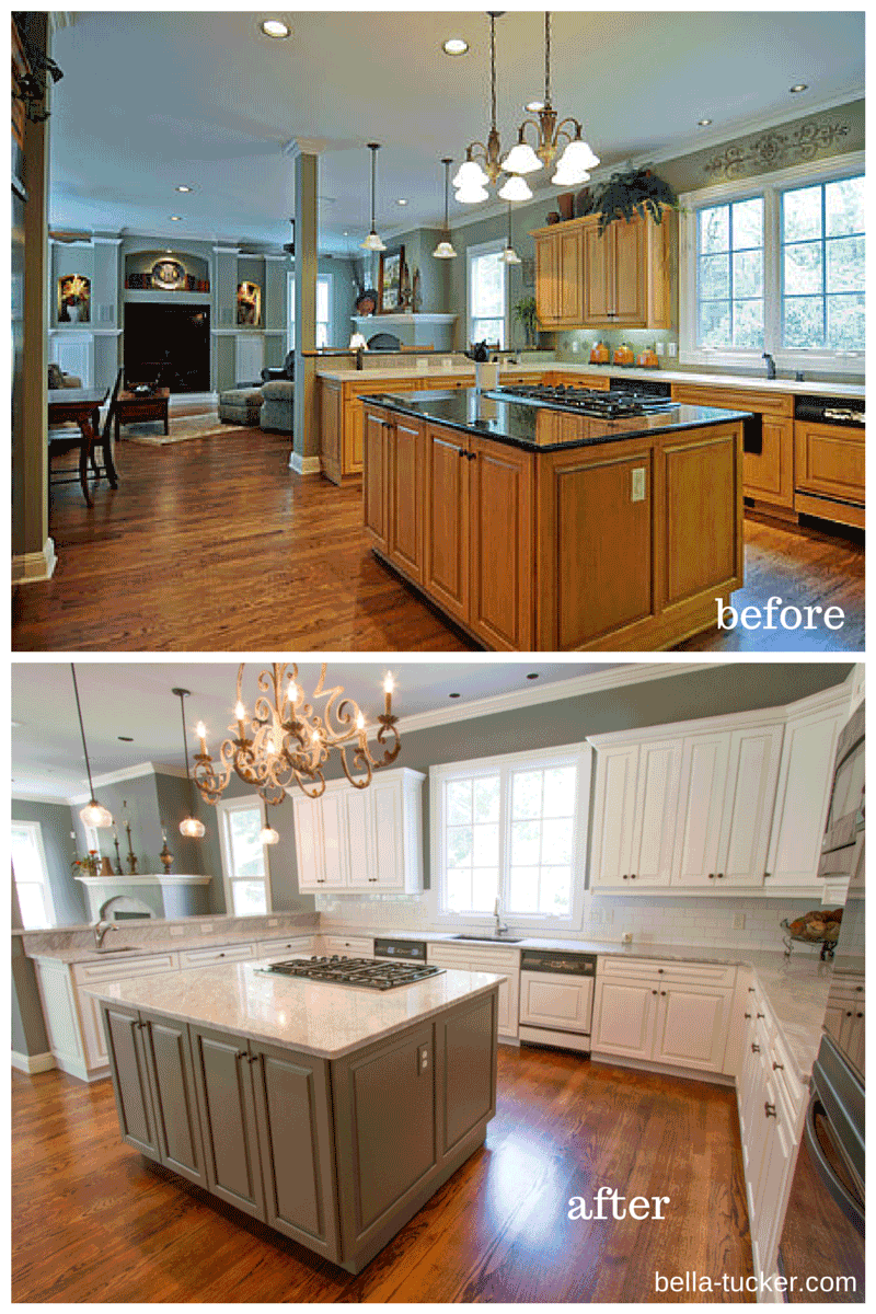 white kitchen cabinets before and after painted cabinets nashville tn before and after photos 2054