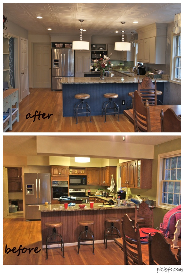 hpr kitchen before and after