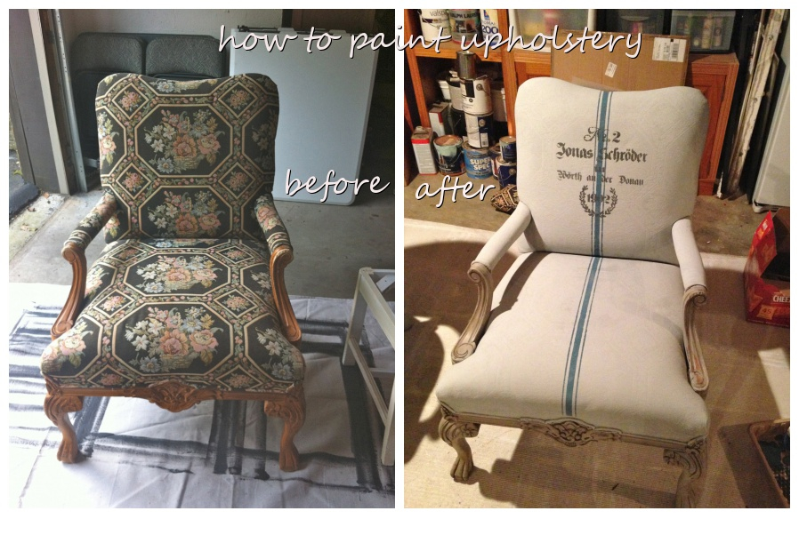 How To Paint Cushions With Chalk Paint