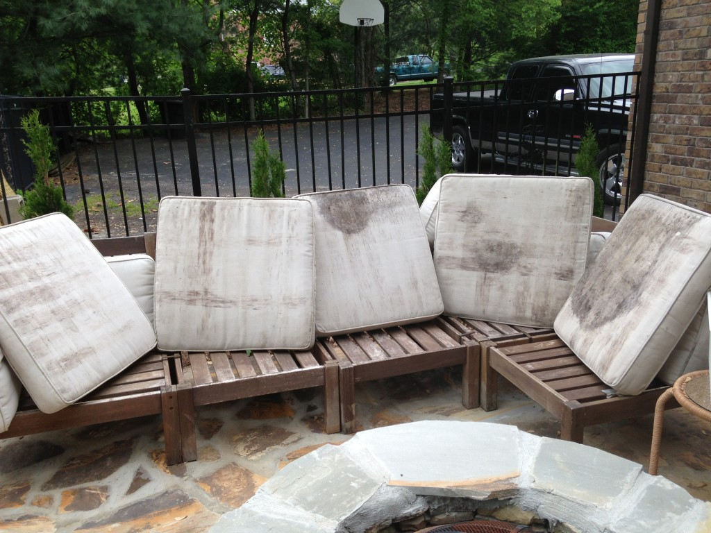 Weathered Pottery Barn Outdoor Sectional
