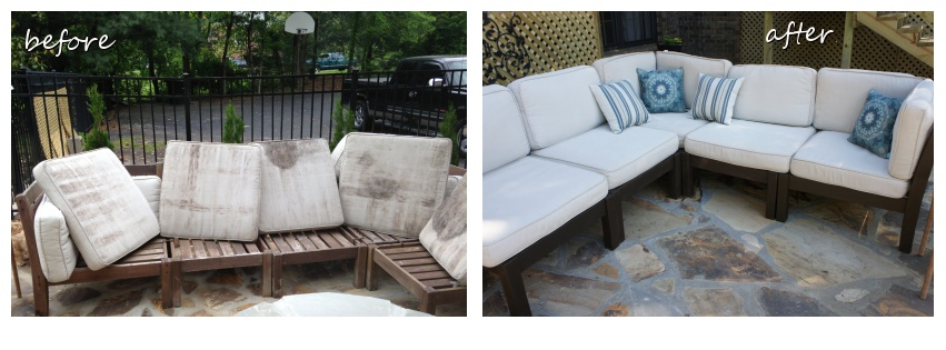 Restain Outdoor Furniture how to paint and stain patio furniture diy true v