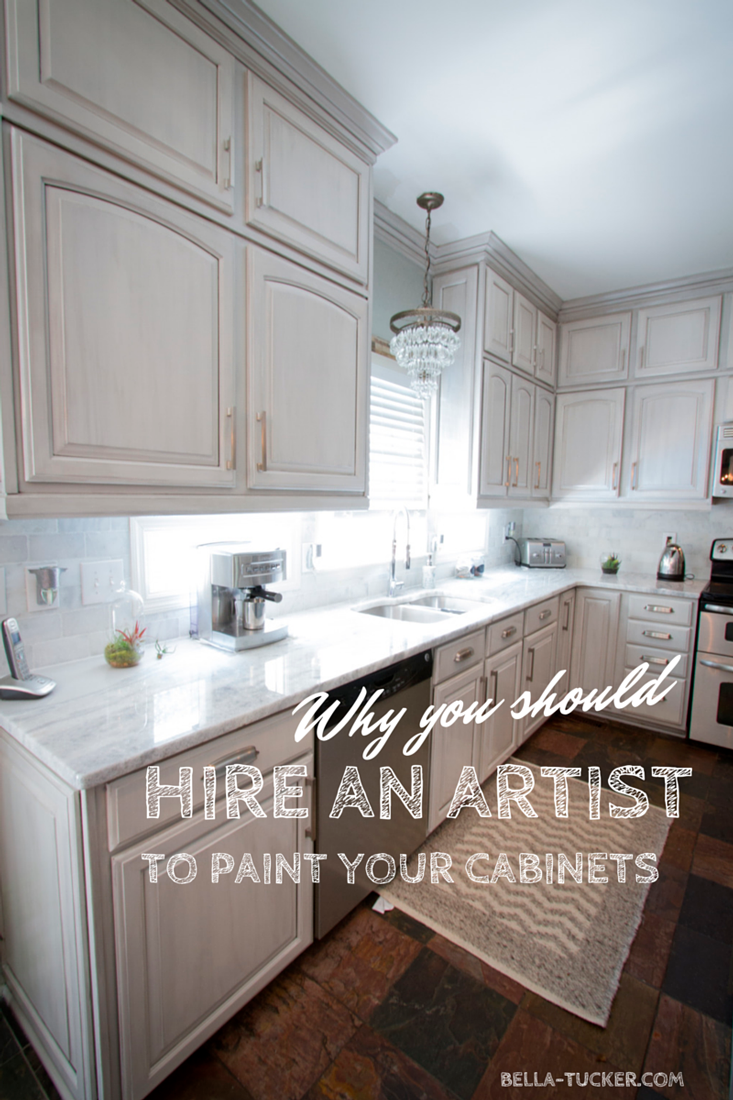 7 Reasons Why You Should Hire an ARTIST to Paint Your Cabinets