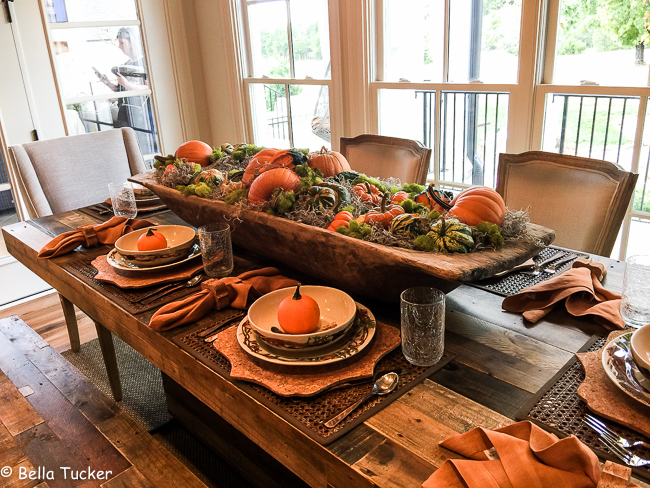 Fall Tablescape Ideas - Bella Tucker Decorative Finishes