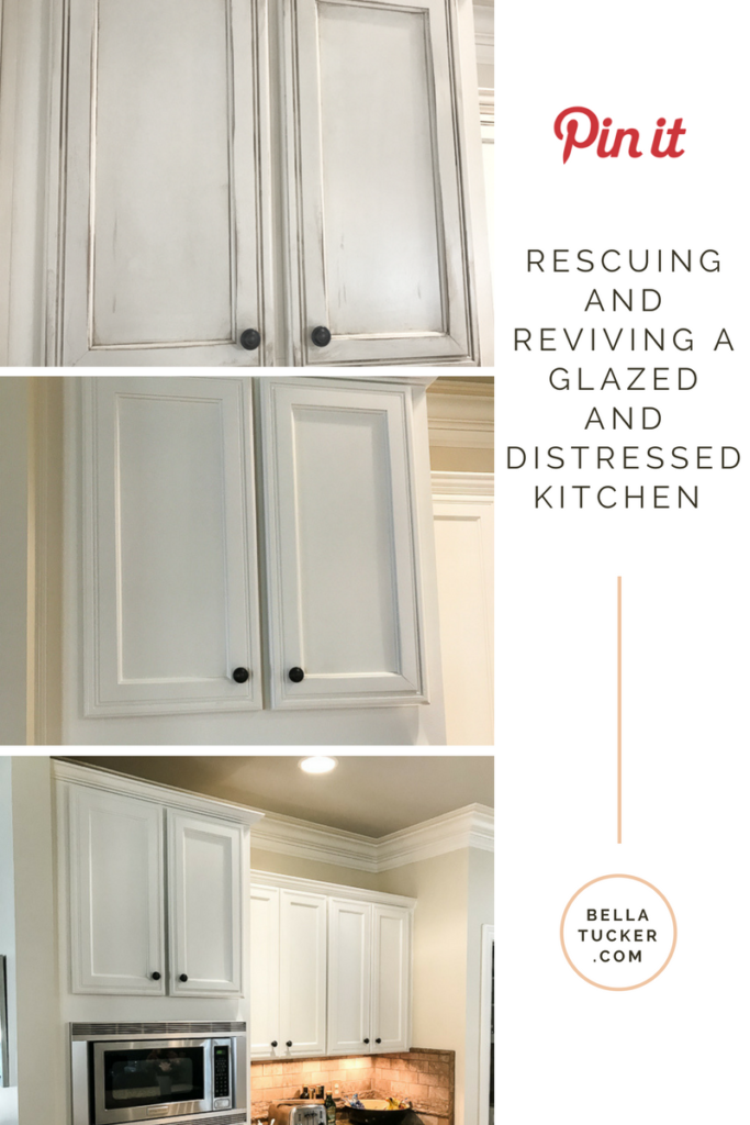 rescuing and reviving a glazed kitchen