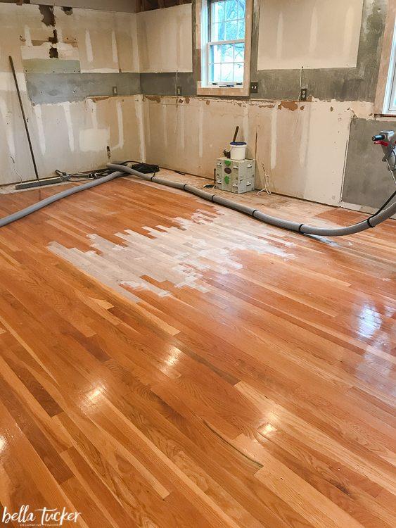 Lacing Wood Floors Repair Bella Tucker Decorative Finishes