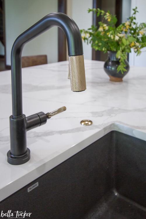 brizo faucet black brass