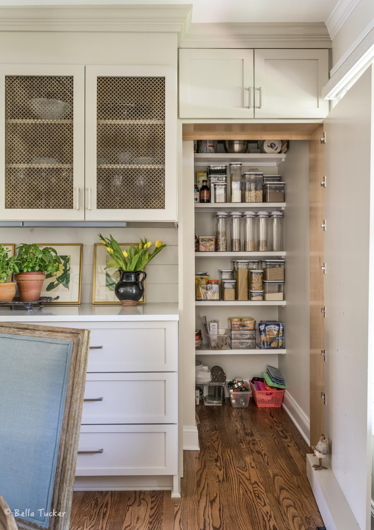hidden pantry open